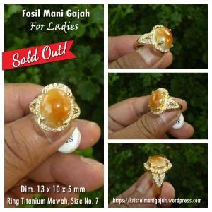Fosil Mani Gajah Ladies 2 - Sold